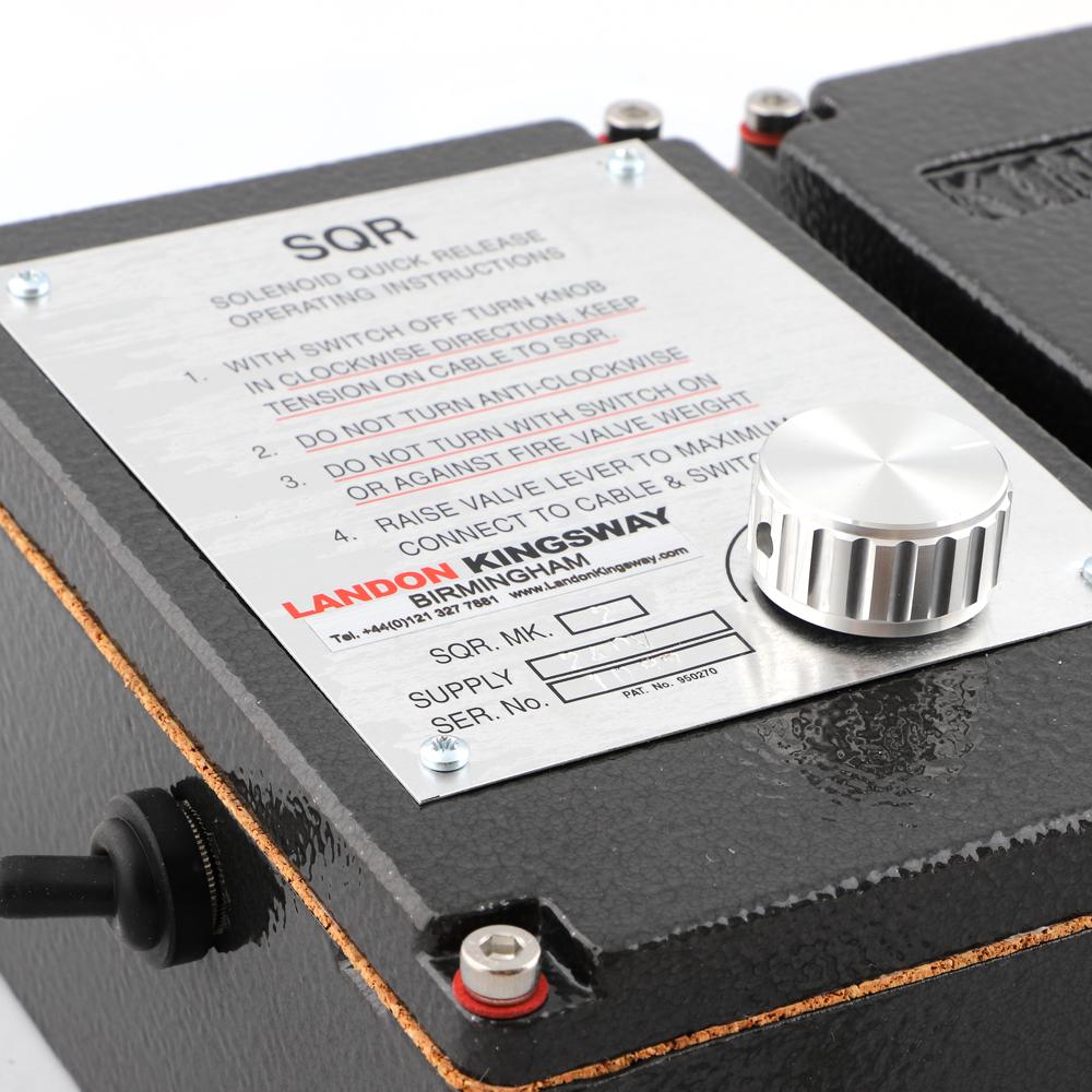 MKII Solenoid Quick Release Mechanism Landon Kingsway solenoid quick release