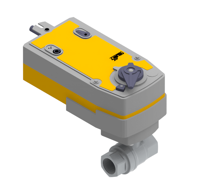 Electrically Operated Ball Valve EBV Series Landon Kingsway Electrically Operated Ball Valve EBV Series