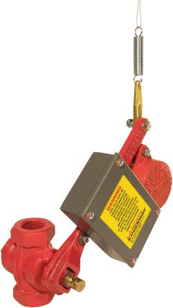 Free Fall Fire Valve Tilt Switch - Mercury Free 10900413 Landon Kingsway Free Fall Fire Valve Tilt Switch