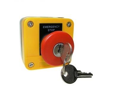 Emergency Panic Button with Key Reset Landon Kingsway Emergency Panic Button with Key Reset