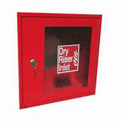 Dry Riser Inlet Four Way Architrave and Door - 109055652 Landon Kingsway Dry Riser Inlet Four Way Architrave and Door