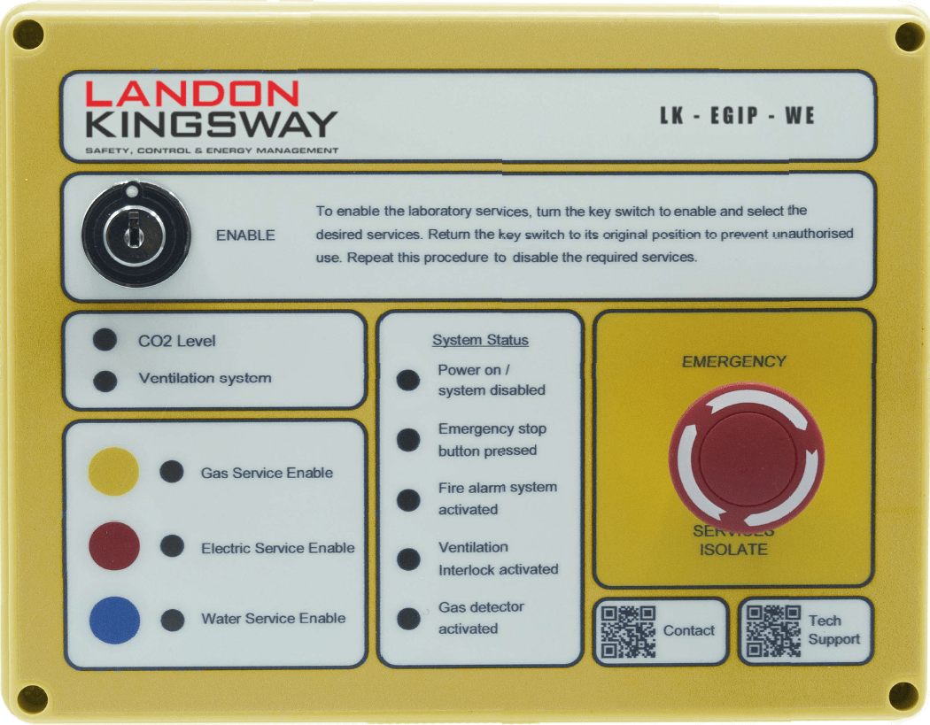 LK-EGIP-WE Laboratory Service Controller Landon Kingsway LK/EGIP-WE Laboratory Service Controller